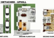 Serenis Single Detached Uphill Floor Plan