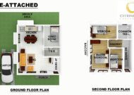Serenis Single Attached Floor Plan