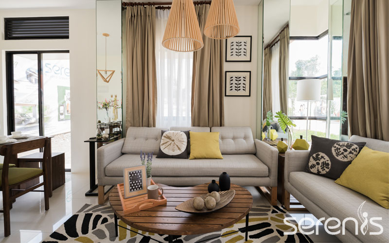 Single attached living room